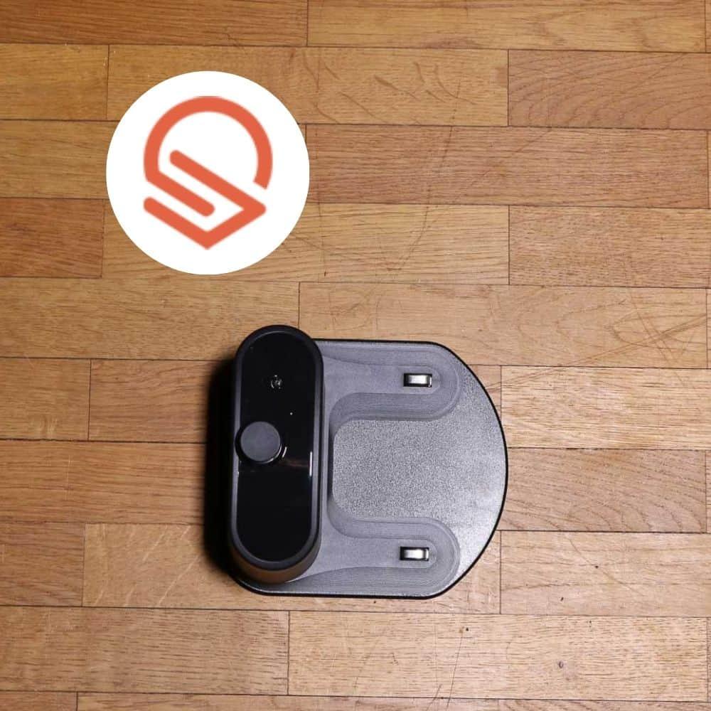 eufy 11s RoboVac Saugroboter Ladestation auf dem Boden