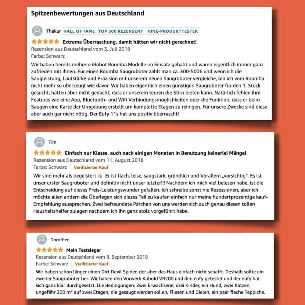 eufy RoboVac 11s Saugroboter Test Bewertung