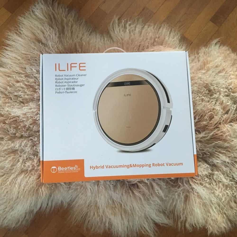 Zaco ILIFE V5s Pro Saugroboter Verpackung von Aussen