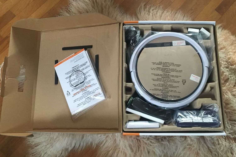 Zaco ILIFE V5s Pro Saugroboter Verpackung
