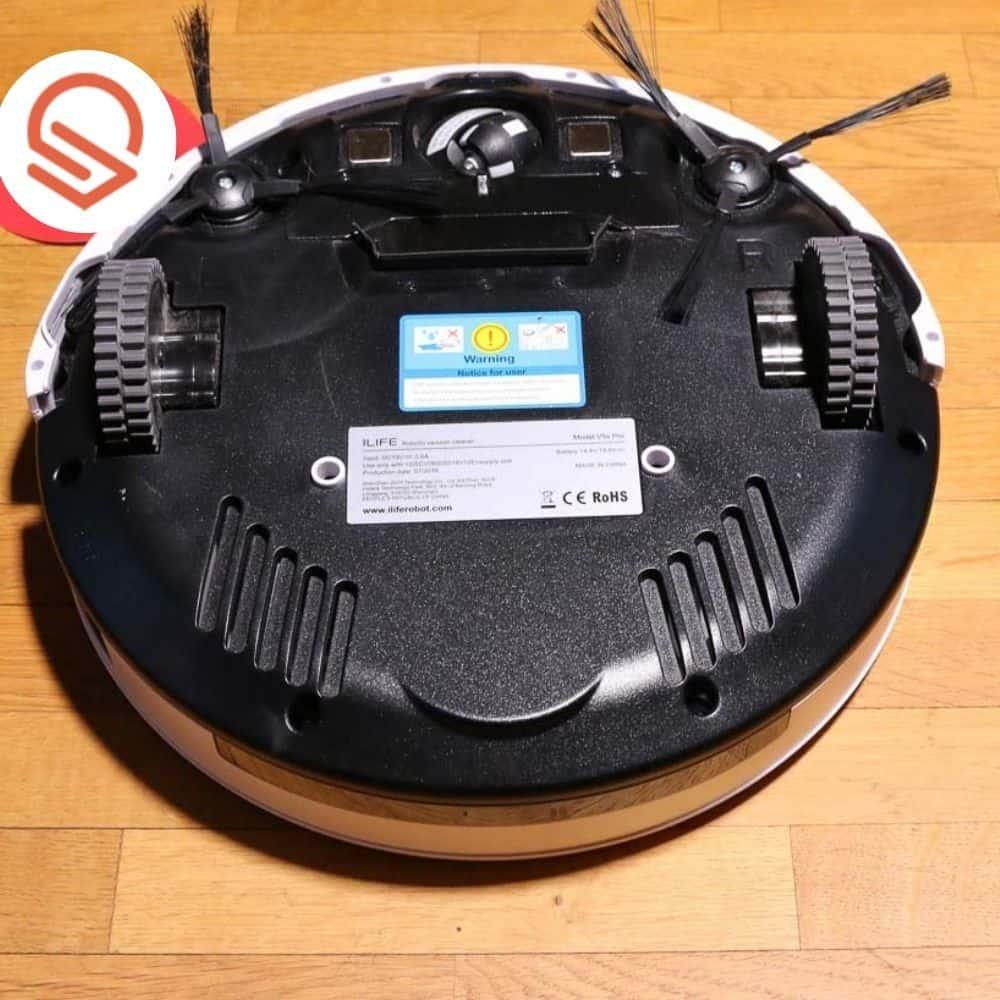 Zaco ILIFE V5s Pro Saugroboter von unten